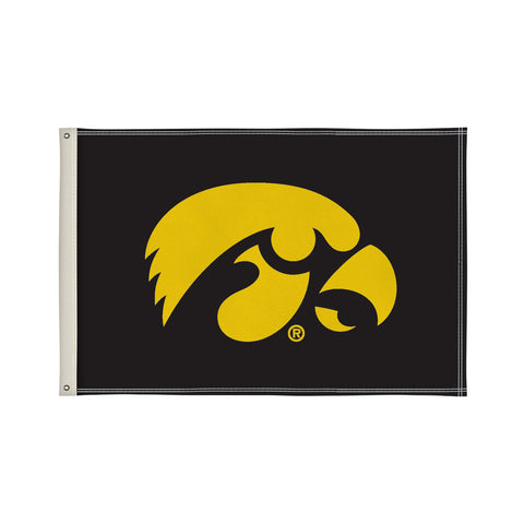 The 2Ft x 3Ft Iowa Hawkeyes Flag - Victory Corps 810002IOWA-001