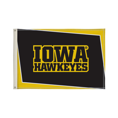 The 2Ft x 3Ft Iowa Hawkeyes Flag - Victory Corps 810002IOWA-002