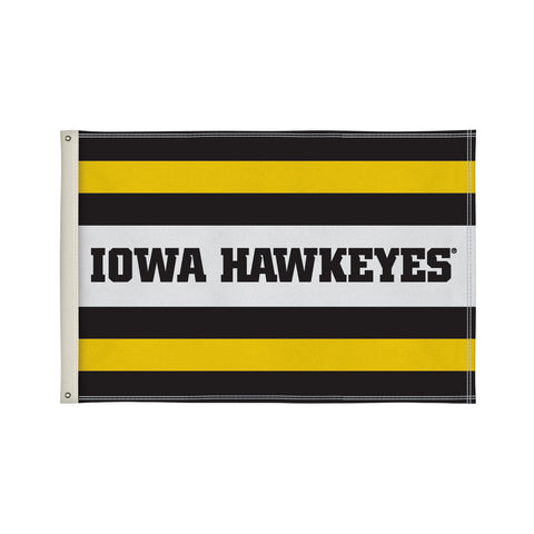 The 2Ft x 3Ft Iowa Hawkeyes Flag - Victory Corps 810002IOWA-003
