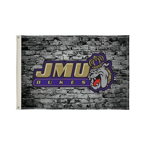 The 2Ft x 3Ft JMU Dukes Flag - Victory Corps 810002JAMAD-003