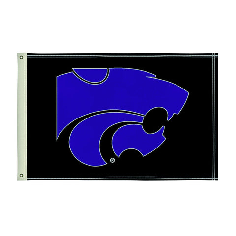 The 2Ft x 3Ft Kansas State Wildcats Flag - Victory Corps 810002KSU-001