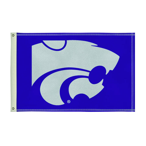 The 2Ft x 3Ft Kansas State Wildcats Flag - Victory Corps 810002KSU-002