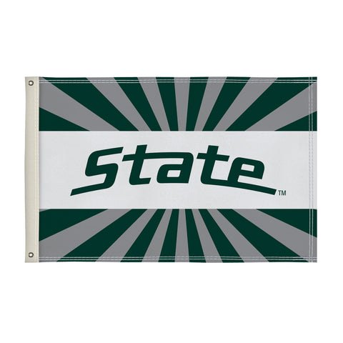 The 2Ft x 3Ft Michigan State Spartans Flag - Victory Corps 810002MSU-002