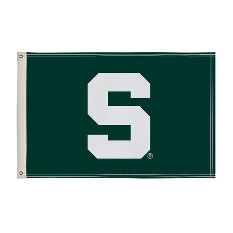 The 2Ft x 3Ft Michigan State Spartans Flag - Victory Corps 810002MSU-003