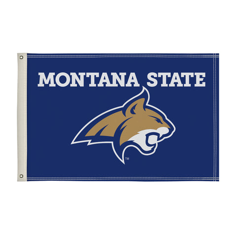 The 2Ft x 3Ft Montana State Bobcats Flag - Victory Corps 810002MTST-002
