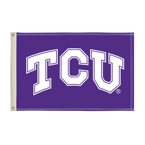 The 2Ft x 3Ft TCU Horned Frogs Flag - Victory Corps 810002TCU-002