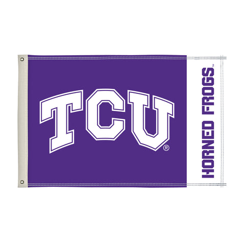 The 2Ft x 3Ft TCU Horned Frogs Flag - Victory Corps 810002TCU-003