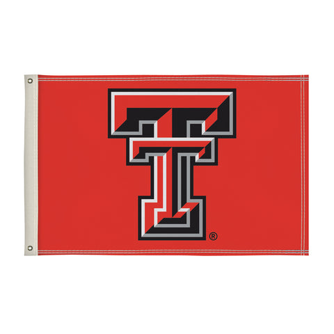 The 2Ft x 3Ft Texas Tech Red Raiders Flag - Victory Corps 810002TTU-002