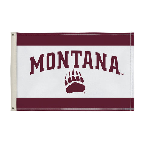 The 2Ft x 3Ft Montana Grizzlies Flag - Victory Corps 810002UMT-002