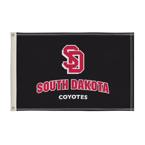 The 2Ft x 3Ft South Dakota Coyotes Flag - Victory Corps 810002USD-003