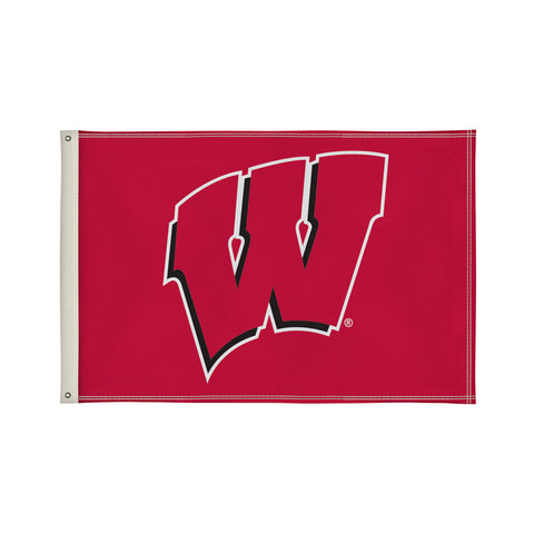 The 2Ft x 3Ft Wisconsin Badgers Flag - Victory Corps 810002WIS-002