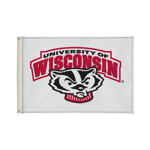 The 2Ft x 3Ft Wisconsin Badgers Flag - Victory Corps 810002WIS-003