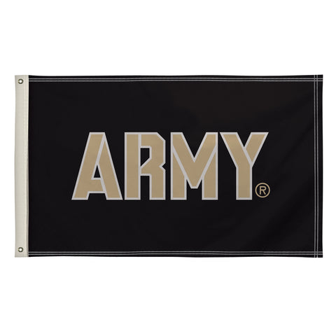 The 3Ft x 5Ft US Army Black Knights Flag - Victory Corps 810003ARMY-002