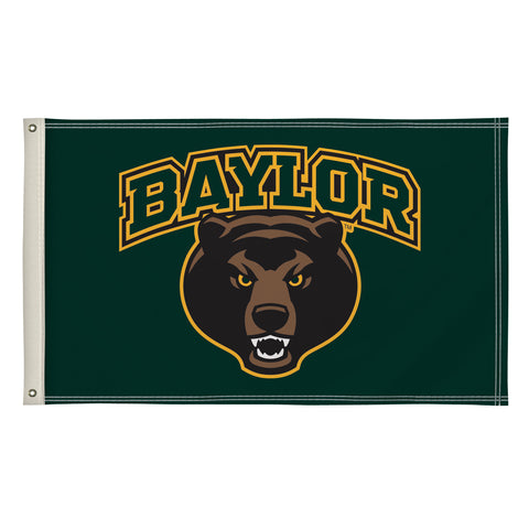 The 3Ft x 5Ft Baylor Bears Flag - Victory Corps 810003BAY-001