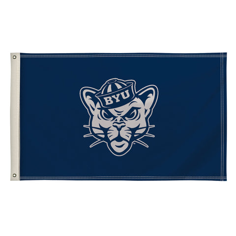 The 3Ft x 5Ft BYU Cougars Flag - Victory Corps 810003BYU-002