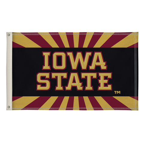 The 3Ft x 5Ft Iowa State Cyclones Flag - Victory Corps 810003IAS-001