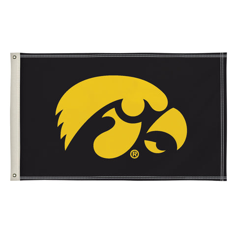 The 3Ft x 5Ft Iowa Hawkeyes Flag - Victory Corps 810003IOWA-001