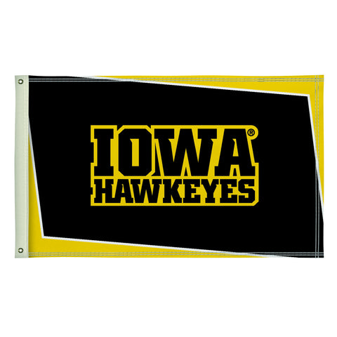 The 3Ft x 5Ft Iowa Hawkeyes Flag - Victory Corps 810003IOWA-002