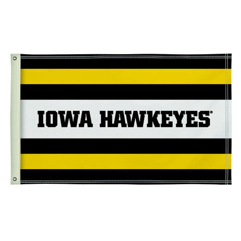 The 3Ft x 5Ft Iowa Hawkeyes Flag - Victory Corps 810003IOWA-003