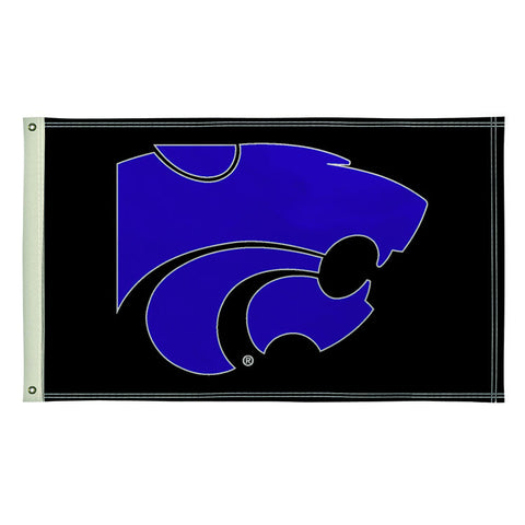 The 3Ft x 5Ft Kansas State Wildcats Flag - Victory Corps 810003KSU-001