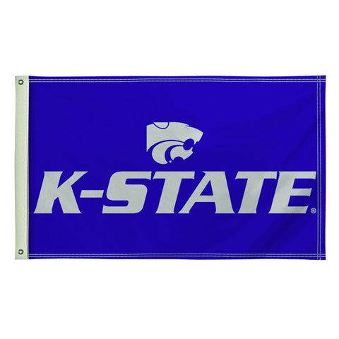 The 3Ft x 5Ft Kansas State Wildcats Flag - Victory Corps 810003KSU-003