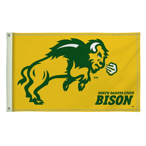 The 3Ft x 5Ft NDSU Bison Flag - Victory Corps 810003NDS-001