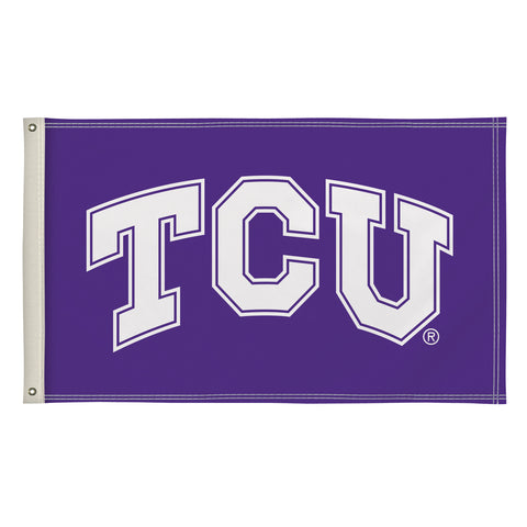 The 3Ft x 5Ft TCU Horned Frogs Flag - Victory Corps 810003TCU-002