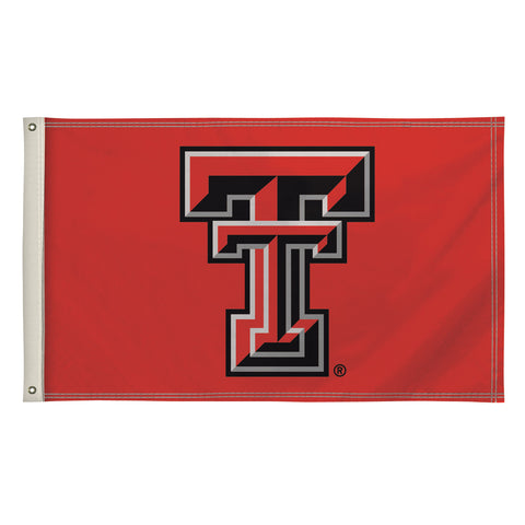 The 3Ft x 5Ft Texas Tech Red Raiders Flag - Victory Corps 810003TTU-002