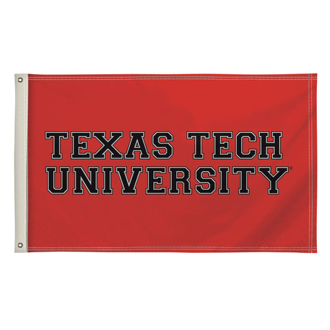 The 3Ft x 5Ft Texas Tech Red Raiders Flag - Victory Corps 810003TTU-003