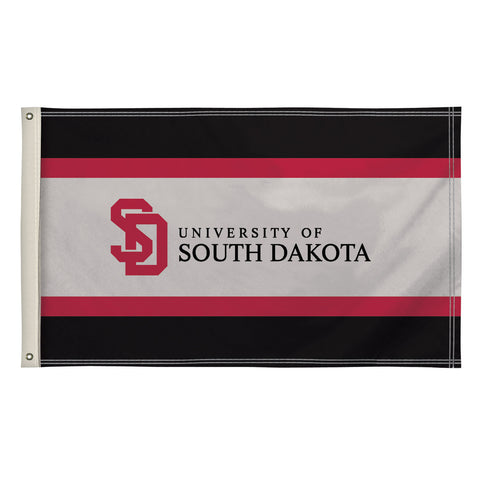 The 3Ft x 5Ft South Dakota Coyotes Flag - Victory Corps 810003USD-001