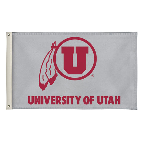 The 3Ft x 5Ft Utah Utes Flag - Victory Corps 810003UUTAH-001