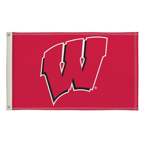 The 3Ft x 5Ft Wisconsin Badgers Flag - Victory Corps 810003WIS-002