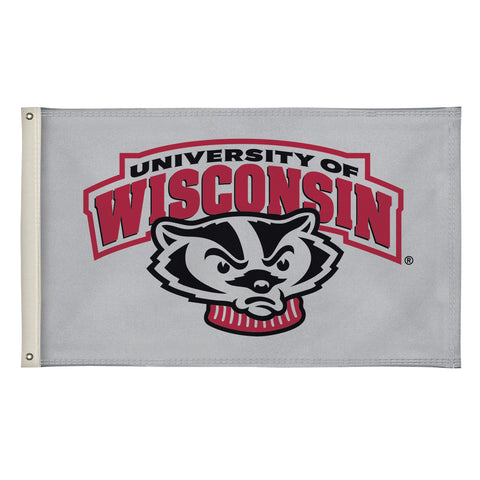 The 3Ft x 5Ft Wisconsin Badgers Flag - Victory Corps 810003WIS-003