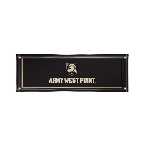 The 2Ft x 6Ft US Army Black Knights Vinyl Fan Banner - Victory Corps 810022ARMY-001
