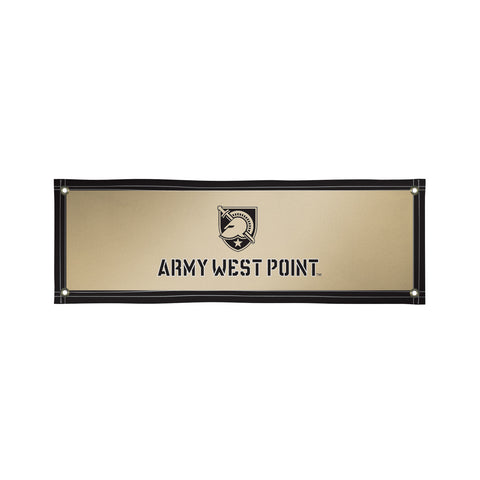 The 2Ft x 6Ft US Army Black Knights Vinyl Fan Banner - Victory Corps 810022ARMY-002