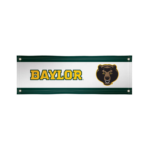 The 2Ft x 6Ft Baylor Bears Vinyl Fan Banner - Victory Corps 810022BAY-001