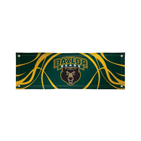 The 2Ft x 6Ft Baylor Bears Vinyl Fan Banner - Victory Corps 810022BAY-002