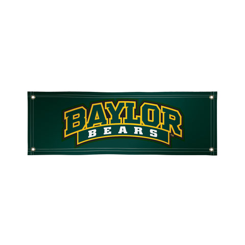 The 2Ft x 6Ft Baylor Bears Vinyl Fan Banner - Victory Corps 810022BAY-003