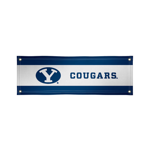 The 2Ft x 6Ft BYU Cougars Vinyl Fan Banner - Victory Corps 810022BYU-001
