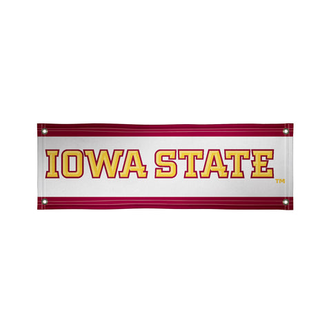 The 2Ft x 6Ft Iowa State Cyclones Vinyl Fan Banner - Victory Corps 810022IAS-001