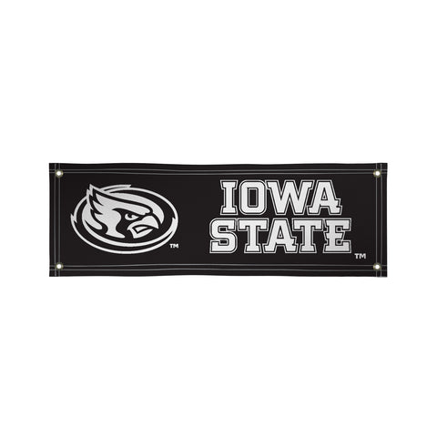 The 2Ft x 6Ft Iowa State Cyclones Vinyl Fan Banner - Victory Corps 810022IAS-003