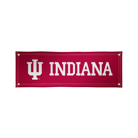 The 2Ft x 6Ft Indiana Hoosiers Vinyl Fan Banner - Victory Corps 810022IUB-002