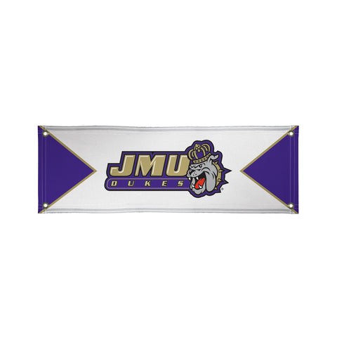 The 2Ft x 6Ft JMU Dukes Vinyl Fan Banner - Victory Corps 810022JAMAD-001