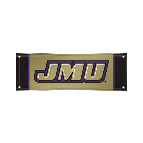 The 2Ft x 6Ft JMU Dukes Vinyl Fan Banner - Victory Corps 810022JAMAD-002