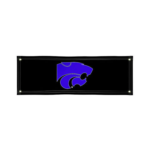 The 2Ft x 6Ft Kansas State Wildcats Vinyl Fan Banner - Victory Corps 810022KSU-003