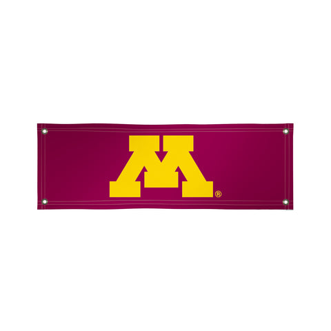 The 2Ft x 6Ft Minnesota Golden Gophers Vinyl Fan Banner - Victory Corps 810022MIN-002