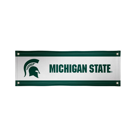 The 2Ft x 6Ft Michigan State Spartans Vinyl Fan Banner - Victory Corps 810022MSU-001