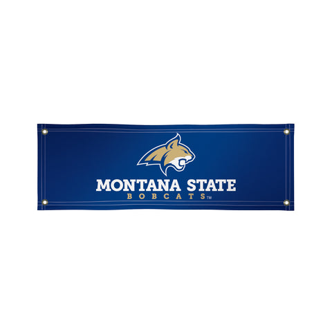 The 2Ft x 6Ft Montana State Bobcats Vinyl Fan Banner - Victory Corps 810022MTST-002