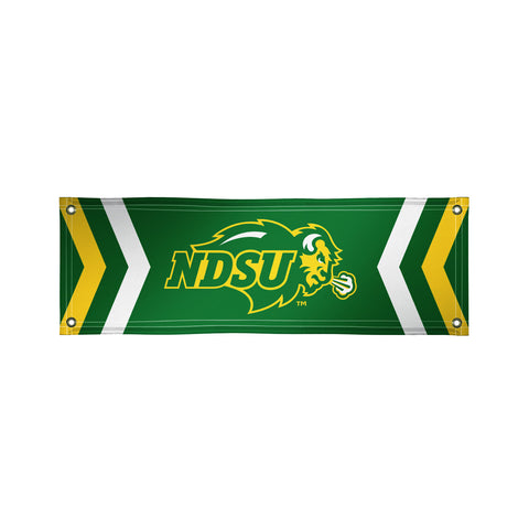 The 2Ft x 6Ft NDSU Bison Vinyl Fan Banner - Victory Corps 810022NDS-002