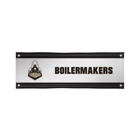 The 2Ft x 6Ft Purdue Boilermakers Vinyl Fan Banner - Victory Corps 810022PUR-001